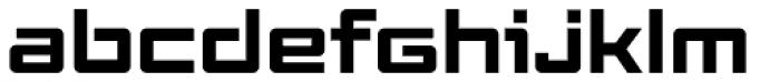 Elevon Three G Font LOWERCASE