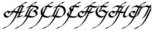 Elf EF Bold Font UPPERCASE