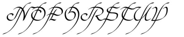 Elf EF Light Font UPPERCASE