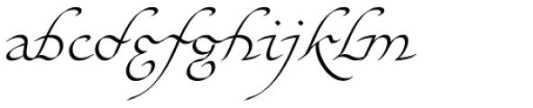 Elf EF Light Font LOWERCASE