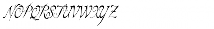 Elfin Font UPPERCASE