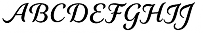 Elicit Script Bold Font UPPERCASE