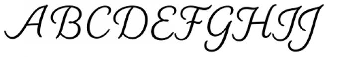 Elicit Script Casual Font UPPERCASE