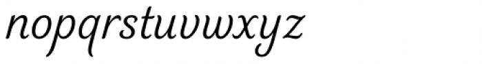 Elicit Script Casual Font LOWERCASE