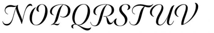 Elicit Script SemiBold Formal Font UPPERCASE
