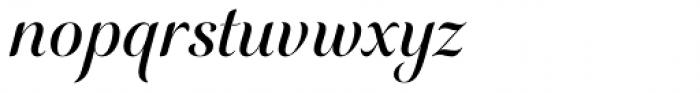 Elicit Script SemiBold Formal Font LOWERCASE