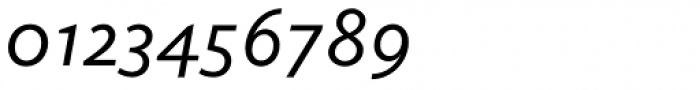 Elido Italic Font OTHER CHARS