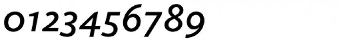 Elido SemiBold Italic Font OTHER CHARS