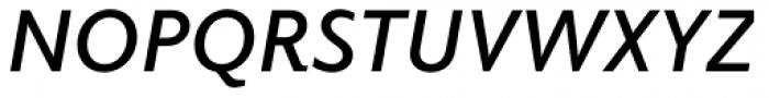 Elido SemiBold Italic Font UPPERCASE