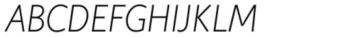 Elisar DT Infant Light Italic Font UPPERCASE