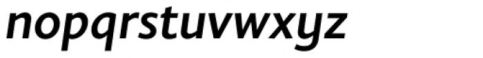 Elisar DT Infant SemiBold Italic Font LOWERCASE