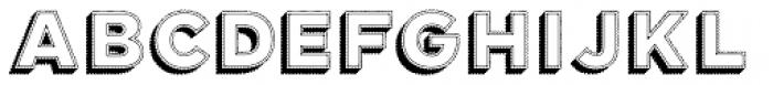 Elise 3D Font UPPERCASE