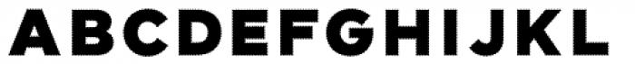 Elise Ribbed Font UPPERCASE