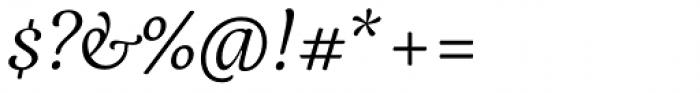 Elisetta Italic Font OTHER CHARS