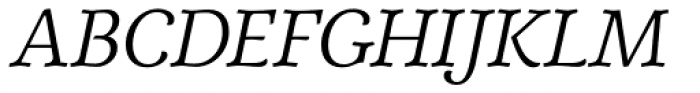Elisetta Italic Font UPPERCASE