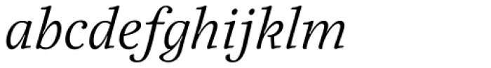 Elisetta Italic Font LOWERCASE