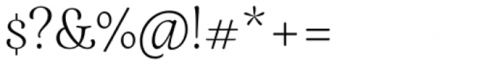 Elisetta Light Font OTHER CHARS