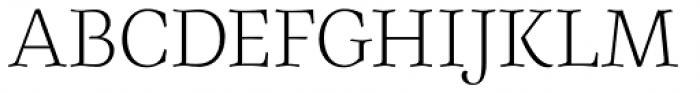 Elisetta Light Font UPPERCASE