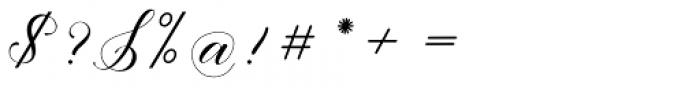 Eliyamoli script Regular Font OTHER CHARS