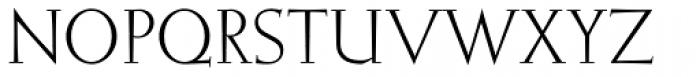 Elizabeth ND Roman Font UPPERCASE