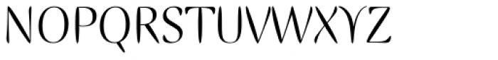 Ellipse Std Roman Font UPPERCASE