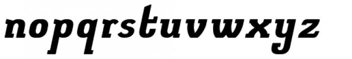 Elmcourt Bold Italic Font LOWERCASE