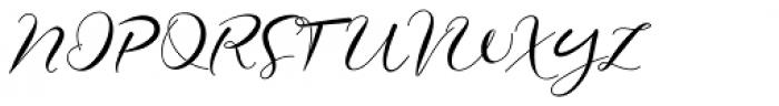 Elmira Regular Font UPPERCASE