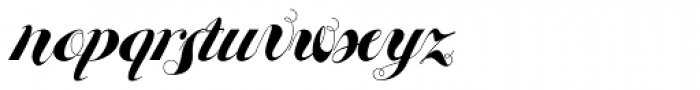 Eloise Bold Font LOWERCASE