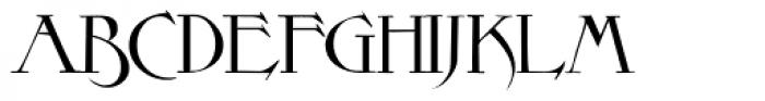 Elphinstone Font UPPERCASE