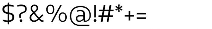 Elsa Light Font OTHER CHARS