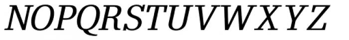 Elspeth GM Bold Oblique Font UPPERCASE