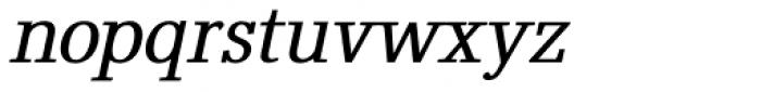Elspeth GM Bold Oblique Font LOWERCASE