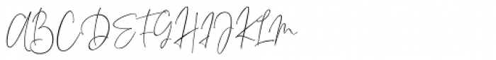 Elvira Font Regular Font UPPERCASE