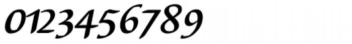 Elysa EF Bold Italic OsF Font OTHER CHARS