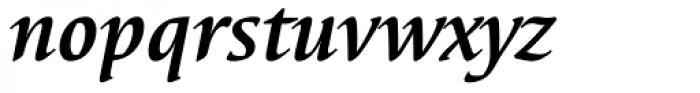 Elysa EF Bold Italic OsF Font LOWERCASE