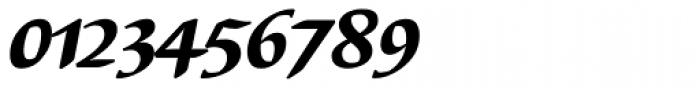 Elysa EF Heavy Italic OsF Font OTHER CHARS
