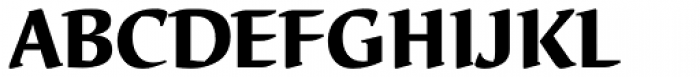 Elysa EF Heavy OsF Font UPPERCASE