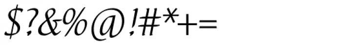 Elysa EF Light Italic Sw2 Font OTHER CHARS