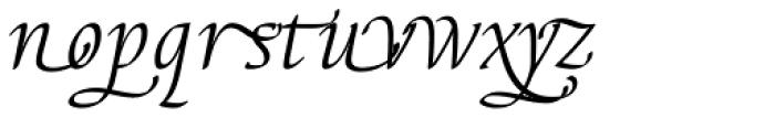 Elysa EF Light Italic Sw2 Font LOWERCASE