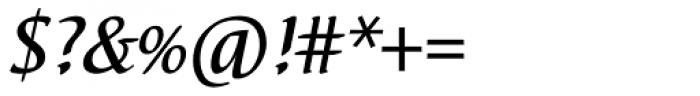 Elysa EF Medium Italic SC Font OTHER CHARS