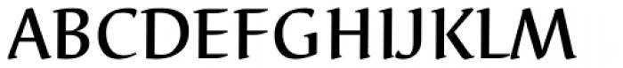 Elysa EF Medium Font UPPERCASE