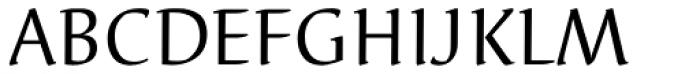 Elysa EF Regular Font UPPERCASE