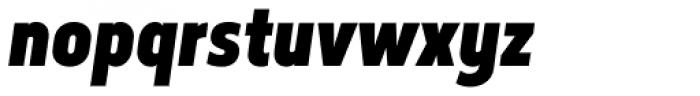 Elysio Black Italic Font LOWERCASE