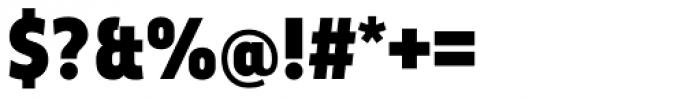 Elysio Black Font OTHER CHARS