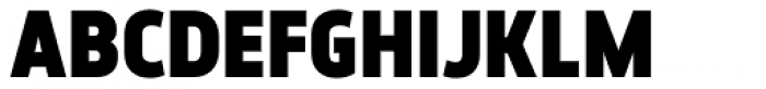 Elysio Black Font UPPERCASE