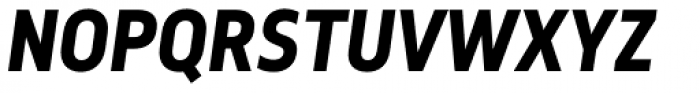 Elysio Bold Italic Font UPPERCASE