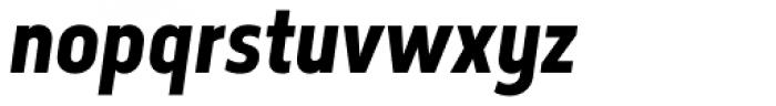 Elysio Bold Italic Font LOWERCASE