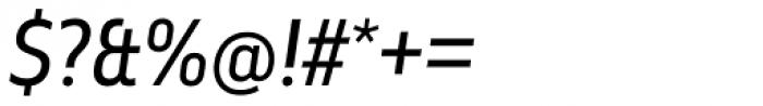 Elysio Italic Font OTHER CHARS