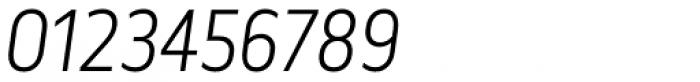 Elysio Light Italic Font OTHER CHARS