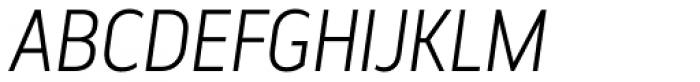 Elysio Light Italic Font UPPERCASE